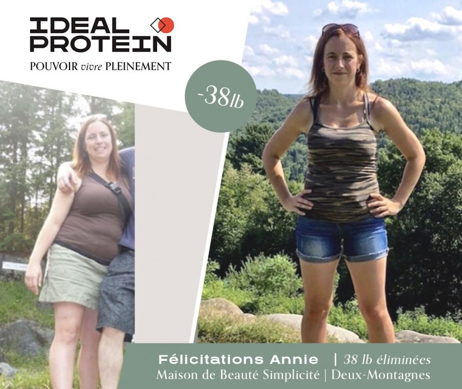Perte de poids - avant-après